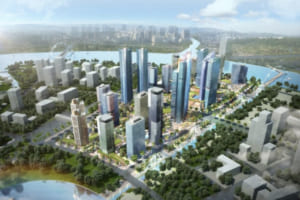 phoi canh du an Eco Smart City quan 2